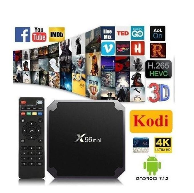 صورة X96 Mini Anroid TV Box